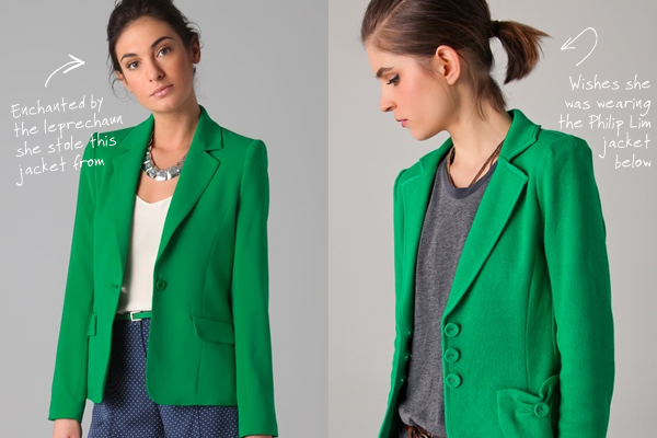 Emerald Green Blazer Photo Album - Reikian